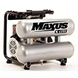 Maxus EX8017 0.5 HP 2.5 Gallon Oil-Free X-LITE Twinstack Air Compressor