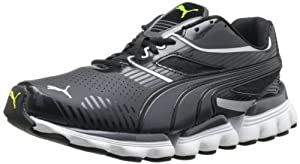 PUMA Men's Walleri Cross-Training Shoe,Black/Dark Shadow/Aged Silver,11 D US