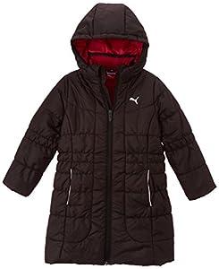 Puma Sj Lifestyle Co Veste mode Fille Noir FR : 8 ans (Taille Fabricant : 128)