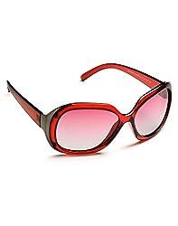 Panache Round Sunglasses - Brown(8900000042128-W)