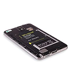 Exilient wireless charging kit for Samsung Note3