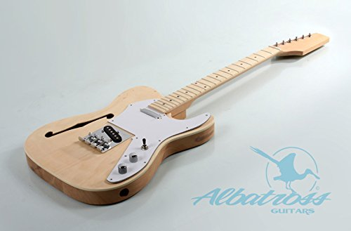 Albatross Guitars Gk007.1 Semi Hollow Body Electric Guitar