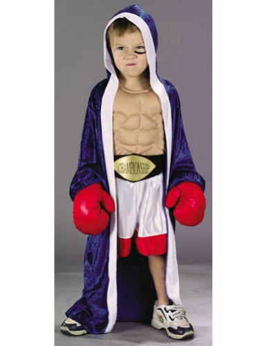 Baby-boys - Champion Boxer Toddler Costume 2 To 4 Halloween Costume