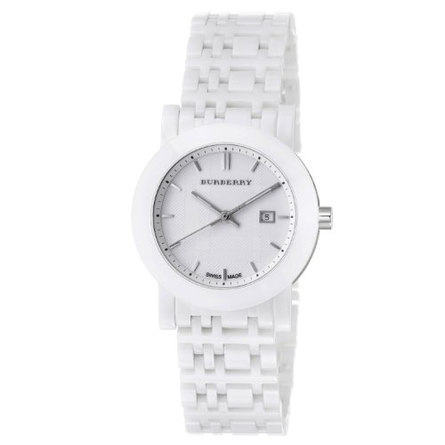 Burberry Women's BU1870 Ceramic White Ceramic Bracelet Watch
