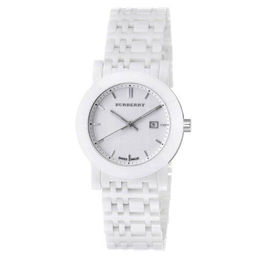 Burberry Women's BU1870 Ceramic White Ceramic Bracelet Watch