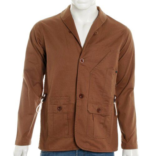 Marshall Artist Mens Vintage Workshop Blazer Jacket - Tobacco - XL