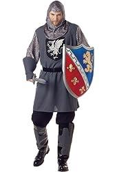 California Costumes Men's Valiant Knight Costume