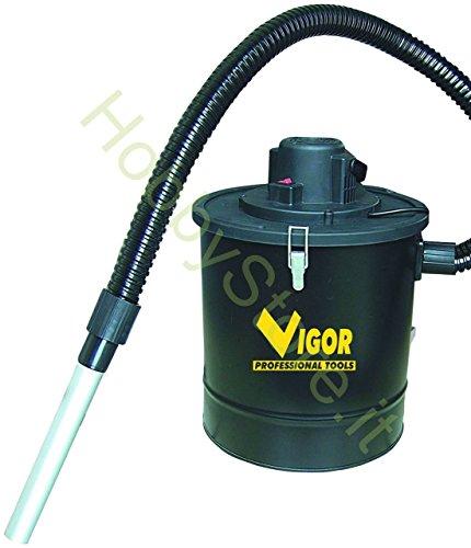Bidone Aspiracenere Vigor Aspir-El 1200 Lt.18 watt 1200