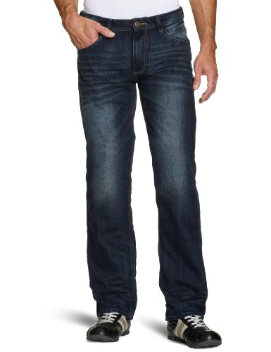 Tom Tailor Men's Cutline Detail Jeans Blue W31 x L36