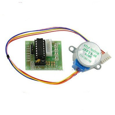 New Electronic 5V Stepper Motor 28Byj-48 With Drive Test Module Board Uln2003 5 Line 4 Phase