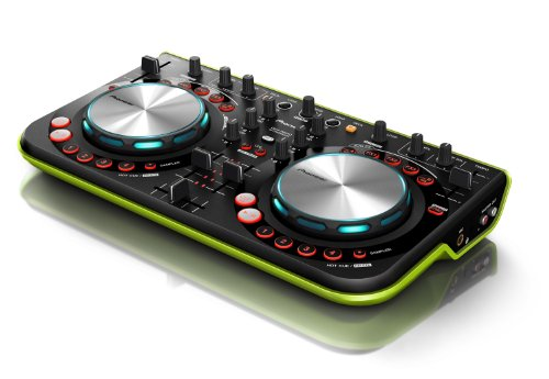Click for Pioneer DDJ Series DDJ-WeGO GRN Digital DJ Controller, Green