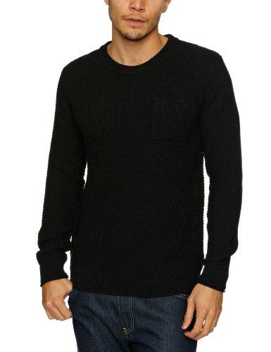 Selected Homme Jeans Reid Crew Neck J Men's Jumper Black Medium