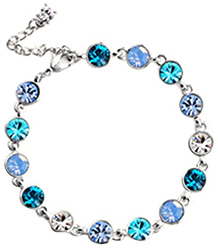 veenajo-3-colors-white-gold-plated-made-with-swarovski-crystal-link-braceletblue