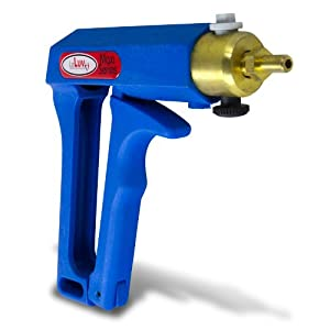 "LeLuv MAXI Blue Pistol Grip Premium Vacuum Pump Kit with 9"" Length Acrylic Cylinder"