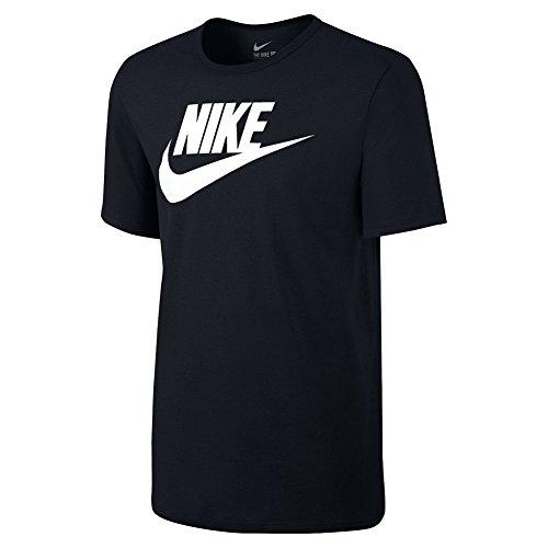Nike Futura Icon, Maglietta Uomo, Multicolore (Nero/Nero/Bianco), XL