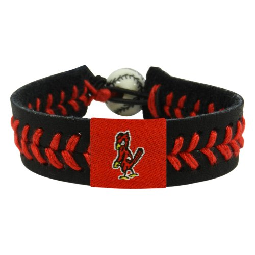 MLB St. Louis Cardinals Angry Bird Black Team Color Baseball Bracelet at Amazon.com