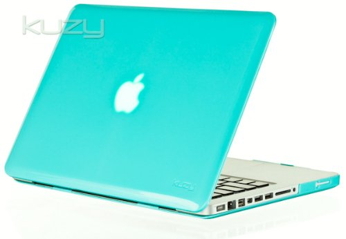 Buy  Kuzy - 15inch Teal / Turquoise HOT Blue Crystal Hard Case for NEW Macbook PRO 15.4