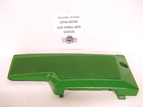 (Ship from USA) John Deere 425 445 455 Tractor Right Side Panel Screen AM128982 M116020 /ITEM NO#8Y-IFW81854208716