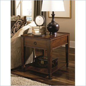 Image of Hammary Sunset Valley Drawer End Table (197-915)
