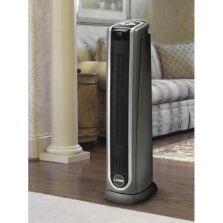 1500 Watts Widespread Oscillating Ceramic Tower Heater, Logic Center Remote Control, Digital Thermostat, Gray (Lasko 5572 Ceramic Heaters compare prices)