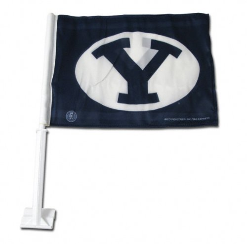 BYU Cougars Car Flag