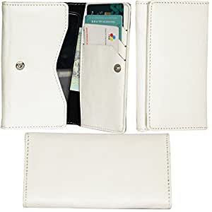 R&A Pu Leather High Quality Wallet Pouch Case Cover With Card Slot & Note Slots,Soft Inner Velvet For LG L80