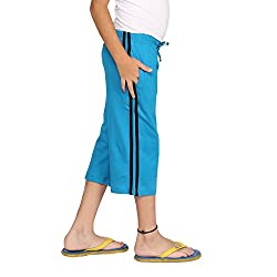 Clifton Boys Coloured Capri - Turquiose - XX-Large (12-13 Years)