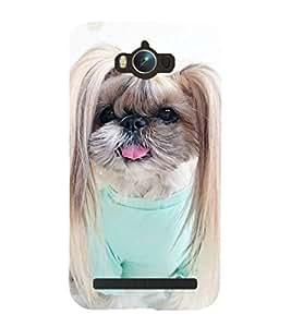 Cute Puppy 3D Hard Polycarbonate Designer Back Case Cover for Asus Zenfone Max ZC550KL :: Asus Zenfone Max ZC550KL 2016 :: Asus Zenfone Max ZC550KL 6A076IN