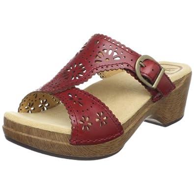 Dansko Women's Sapphire Sandal,Crimson,41 EU / 10.5-11 B(M) US
