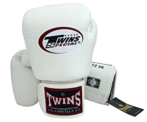 Buy Twins Special - Boxing Gloves. BGVL3, Color:Black Red Green Orange White Blue, Size: 10 12 14 16... by Twins Special