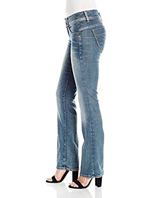 G-Star Women's Midge Saddle Mid Bootleg Wmn Jeans