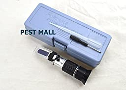 Honey Tester Refractometer-Professional Grade Honey Moisture Refractometer -more accurate than cheap Honey Refractometers-Eco Keeper Brand
