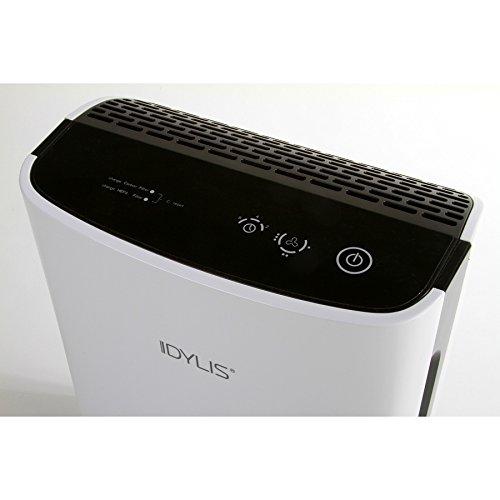 idylis 3speed 155sq ft hepa air purifier
