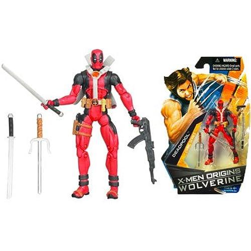 X-Men Origins Wolverine Comic Series 3 3/4 Inch Action Figure Deadpool-0653569380795