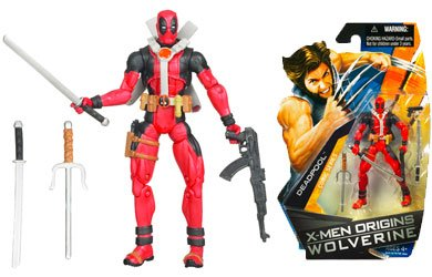 Buy Low Price Hasbro X-Men Origins Wolverine Comic Series 3 3/4 Inch Action Figure Deadpool (B001SRFMLQ)