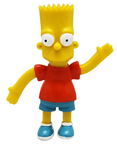 The Simpsons Bart Bendable Figure