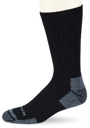 Low Price Carhartt Men's Cotton 3 Pack Crew Work Socks