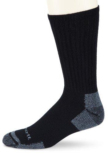 Carhartt Men's Cotton 3 Pack Crew Work Socks