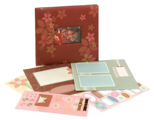 Tapestry by CR Gibson ST12PD-6157FC 12-by-12-Inch Scrapbook Complete Kit, Inspirational Friend