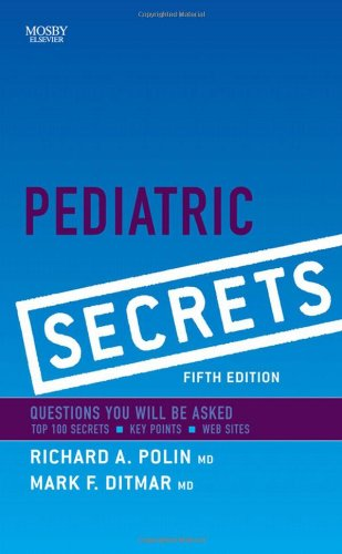 Pediatric Secrets, 5E front-14366