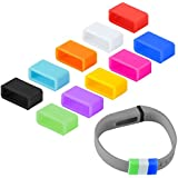 DelTex® Silicone Fasteners For Fitbit Flex Wireless Wristband Bracelet (10 Pack)