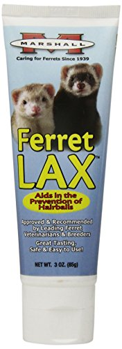 Marshall Ferret Lax Hairball and Obstruction Remedy for Ferrets, 3-Ounce