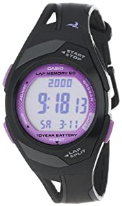 Casio Women's STR300-1C Runner Eco Friendly Digital Watch