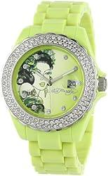 Ed Hardy Women's RX-LG Roxxy Light Green Watch