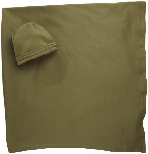 Moby Wrap 100% Cotton Swaddle Blanket, Olive front-562128