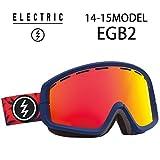 《ボーナスレンズ付》14-15モデル スノーゴーグル EGB2 [BL FRONDS  BRZ/RED CRM]  【 ELECTRIC / エレクトリック 】