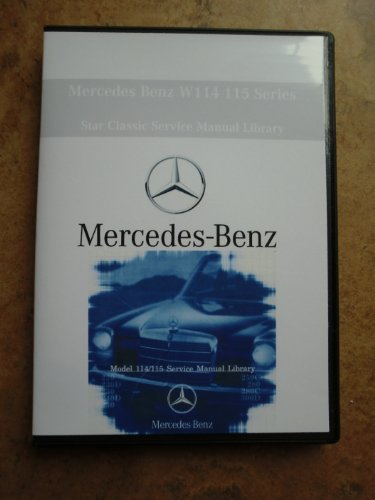 Mercedes Benz 230 Service Manual Cd 1968 1969 1974 1975 1976