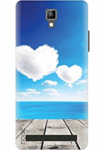 Noise Designer Phone Case / Cover for Micromax Bolt Q331 / Patterns & Ethnic / Lovely Clouds