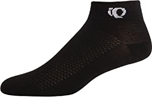 Pearl iZUMi Attack Low Sock 3-Pack,Black,Medium