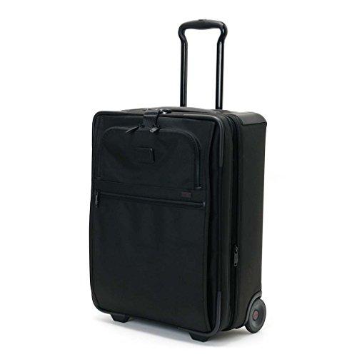 (トゥミ)TUMI 22021 D2 ALPHA2 キャリーケース/スーツケース 20インチ・コンチネンタル・キャリーオン ブラック(TSAロック付) [並行輸入品]